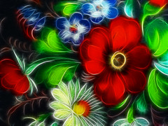 Fiori (*Sefora*) Tags: red painterly flower color macro verde art nature leaves foglie photoshop catchycolors painting effects interestingness big interesting artwork arte top vibrant sony digitalart natura quadro best fave sharing fractal faves piante effect rosso effetti dipinto favorito effetto supershot abigfave anawesomeshot flickraward diamondclassphotographer flickrdiamond dscw80 dynamicphoto abigafe fractalius spiritofphotography colourvisions sharingart flickrunitedaward dynamicphot effetts