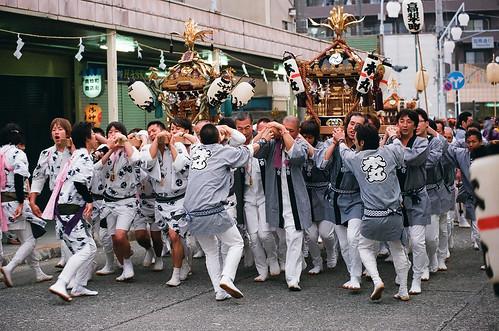 松原神社例大祭 - 本丸・本町
