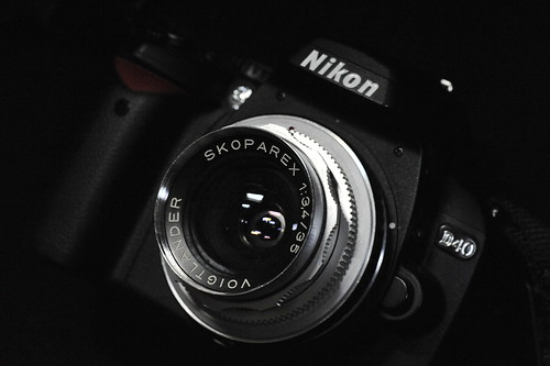 D40 with Voigtländer SKOPAREX 35mm F3.4
