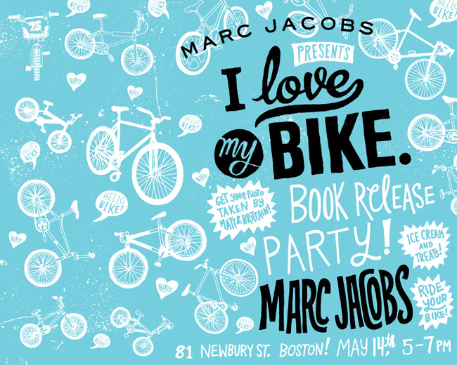 I Love My Bike, Marc Jacobs, Chris Piascik