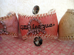 Custom Baseball Cuffs Chic! 5
