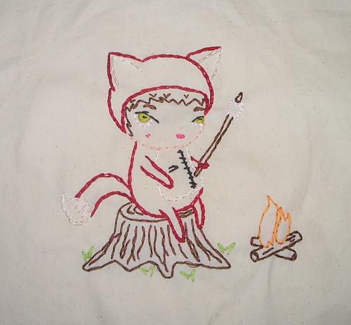 Foxy Felix Embroidery