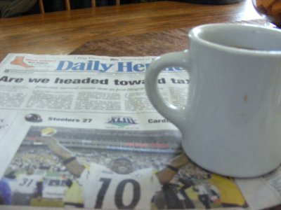 Coffee & the Paper