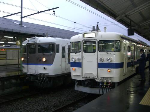 115系と415系/115 series and 415 series
