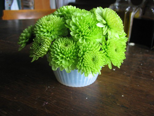 cupcake flower arrangement