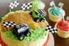 Monster Truck cake (LynnInSingapore) Tags: birthday boy cake truck dessert cupcake monstertruck