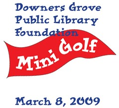 DGPL Library Mini Golf event this Sunday