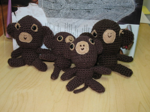 Amigarumi Monkeys!