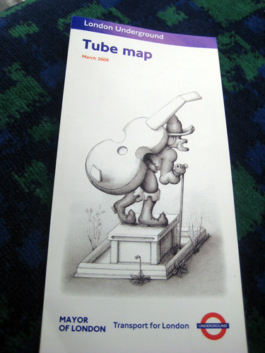 New Tube Map Cover - March 2009