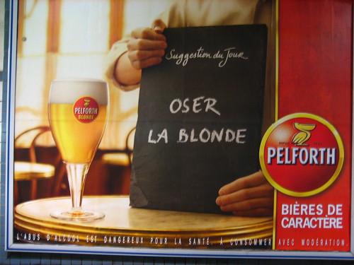 OSER LA BLONDE : Pelforth, Bières de caractère