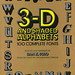 3-D and Shaded Alphabets: 100 Complete Fonts by Joe Kral