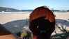 Day 29/365 Merry_Beach (Pink Thistle) Tags: selfportrait campingtrip backofmyhead 365days merrybeach newsouthwalessouthcoast