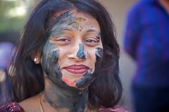 Holi faces 4 (Michael Foley Photography) Tags: india festival delhi holi