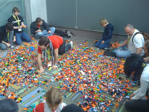 Lego Pit always a crowd pleaser at SXSW