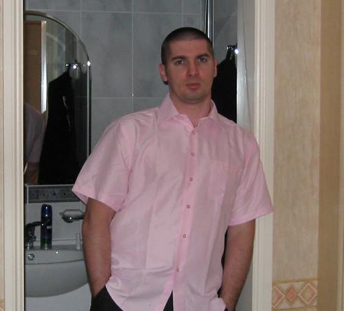 Naravno - Pink je nezaobilazna boja za košulju ;)