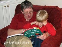 Shark & Dad Reading5