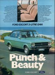 1976 Ford Mk2 Escort Ghia Ad