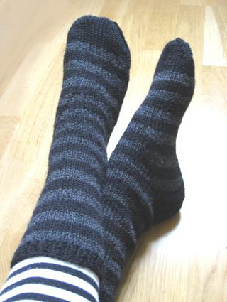 Stripete sokker
