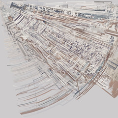 unknown.place (mark knol) Tags: road city abstract art place map maps flash curves places generative unknown generated actionscript as3 markknol