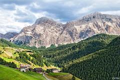 La Valle, Wengen, La Val - Gruppo del Sasso della Croce - Kreuzkofel (cicrico) Tags: laval wengen dolomiti bolzano bozen altoadige lavalle pustertal valbadia gadertal