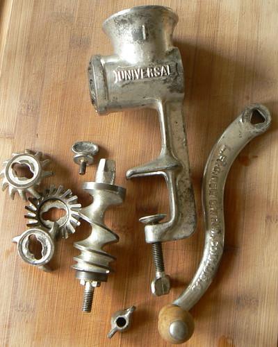 Universal #1 meat grinder
