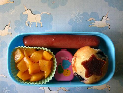 Preschooler Bento #157: March 20, 2009