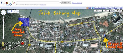 Plan Teluk Bahang
