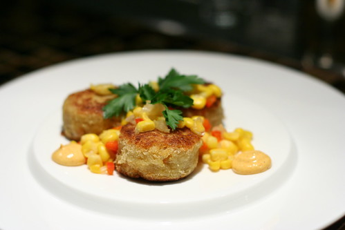 Dungeness Crab & Shrimp Cakes