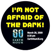 I'm not afraid of the dark!