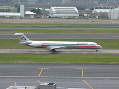 N434AA American Airlines MD-83 (thinkinginthebox) Tags: pdx americanairlines md83 portlandinternationalairport n434aa
