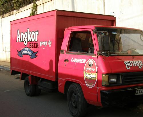 65.Angkor Beer的小貨車