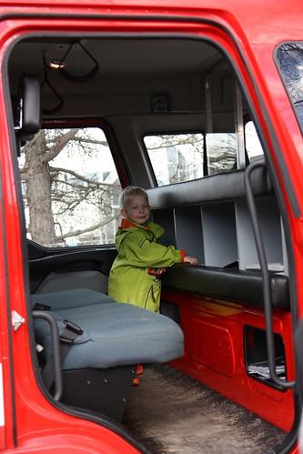 Niilo & fire truck