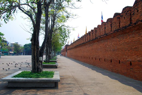 city wall, chiang mai
