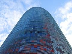 Torre Agbar (angelique_dieulan) Tags: barcelona spain agbartower torreagbar