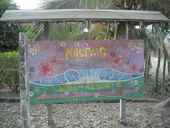 Mal Pais Surf Camp entrance