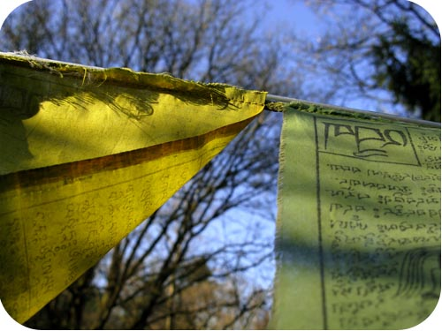tibetean prayer flags