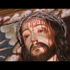 Jesus Christ at the Church Of Saint Mary La Alhambra (j glenn montano 3) Tags: santa church saint del de la christ maria glenn mary jesus royal iglesia mosque alhambra montano justiniano aplusphoto