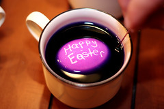 Happy Easter (pixpanache) Tags: color cup easter happy purple egg coloring