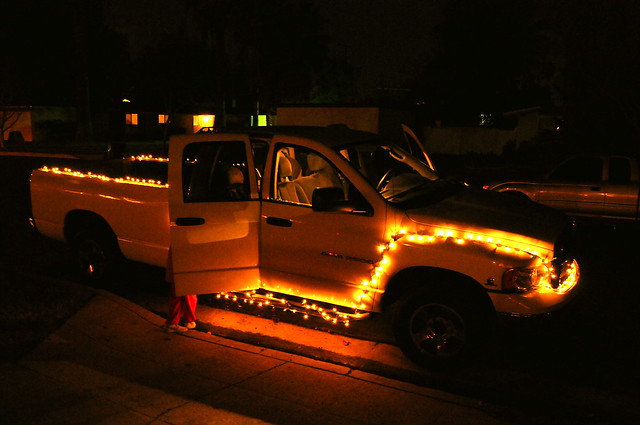 2005 christmas xmas lights diesel turbo dodge ram cummins 2500