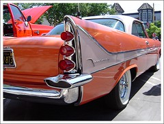 1958 DeSoto  Firesweep (Bob the Real Deal) Tags: show classic 1955 car cool whitewalls sony plymouth 1958 1957 dodge 50s 1956 hemi chrysler mopar 2009 desoto fins kingsburg sonydscp72 firesweep