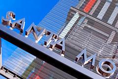 santa mo (Anthony Citrano) Tags: california sky facade losangeles santamonica leed civiccenter parkingstructure
