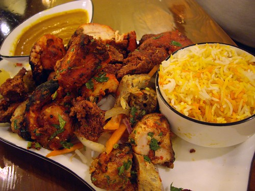 Mixed Grill from Bayleaf India Bistro