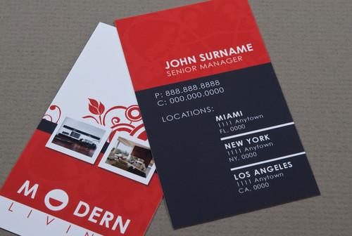 Modern Furniture Business Card