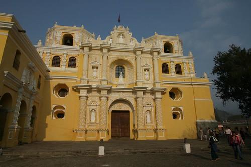 Iglesia La Merced. Antigua, Guatemala.