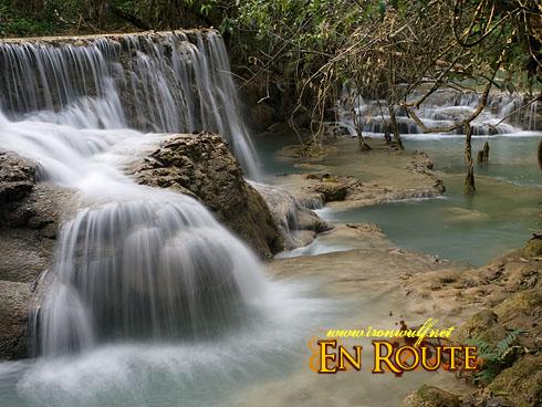 Tat Kuang Si Mid Tier Cascade