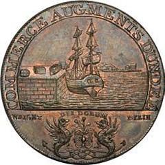 1795 Dundee Conder token