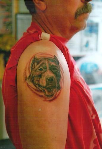 love my dog tattoo by tattoodublin.com