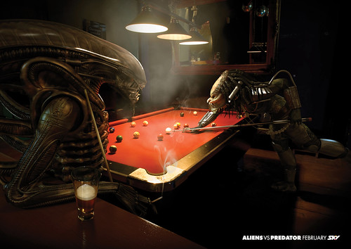 Aliens vs Predator pool