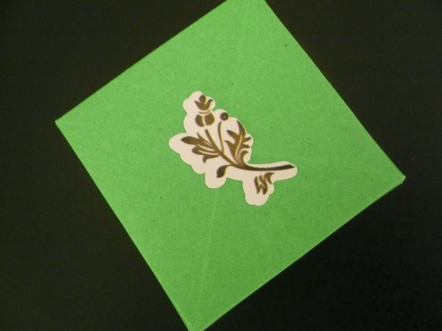 Dollar Store Origami Box