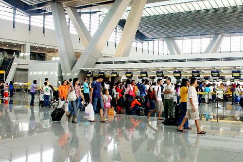 Busy Terminal Three